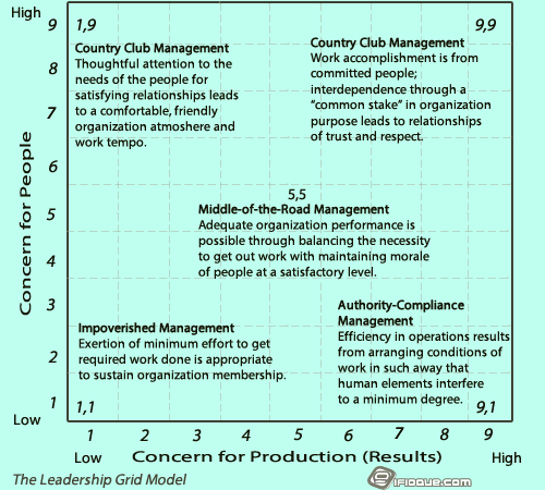 Leadership Grid Figure