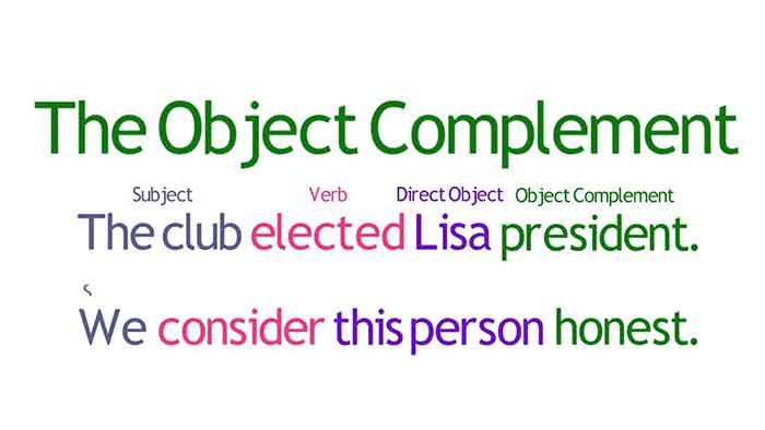 Understanding the object-complement with picture
